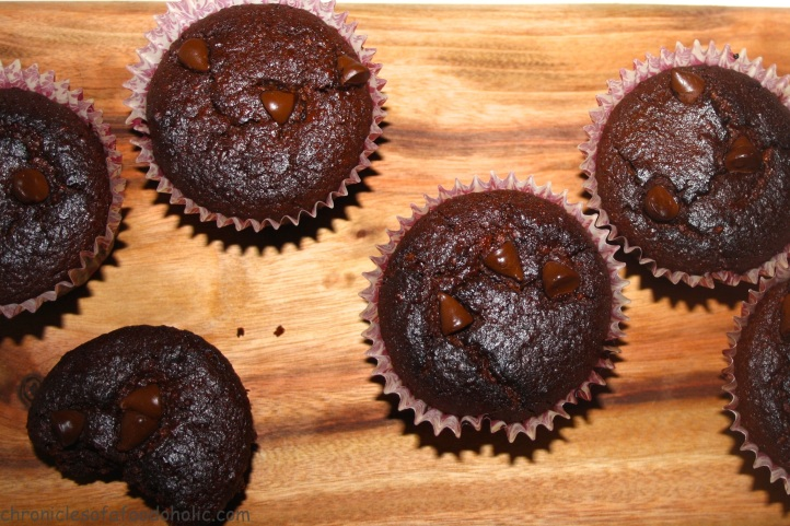 Gluten-free and Healthy these Dark Chocolate Cupcakes are delicious