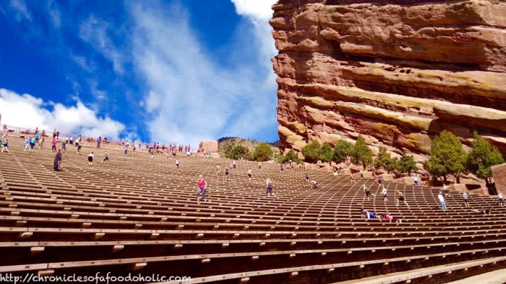 Catch a show at the famed Red Rock Amphitheatre